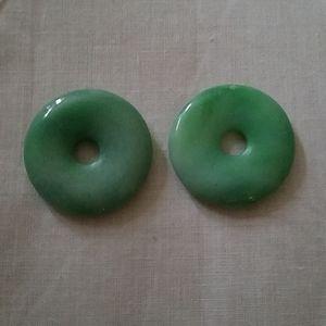 Jade pendents